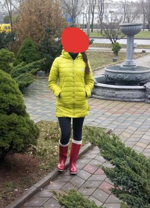 Удлиненная куртка, пальто демисезонное, демисезонная курточка