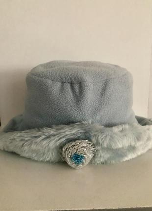 Тепла шапка на дівчинку