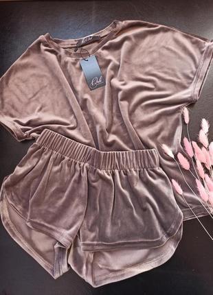 Мягкая удобная пижама костюм домашний