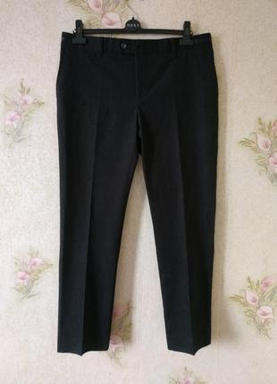 Мужские брюки zara man # брюки из плотной ткани #