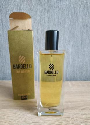 Духи bargello 50мл, женские, туалетная вода турция