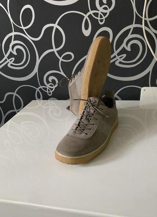 Демисезонный оригинальные мужские туфли ecco. размер 41