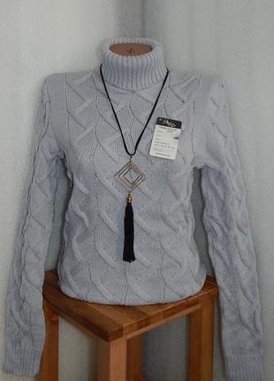 02.12 последнее получение!самая продаваемая модель!вязаный свитер под горло дешево