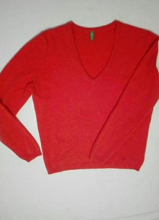 Пуловер— шерсть!
