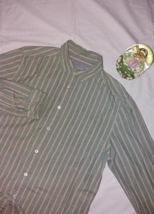 Винтажная рубашка в полоску