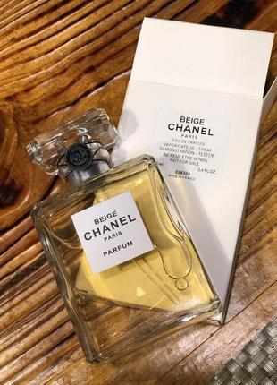 Chanel les exclusifs de chanel beige туалетная вода, тестер, 100 мл