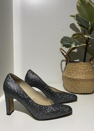 Винтажные кожаные туфли by florentine 40(27-27.5)