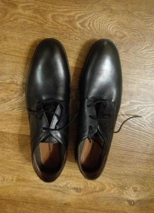 Туфли мужские canda натуральная кожа.