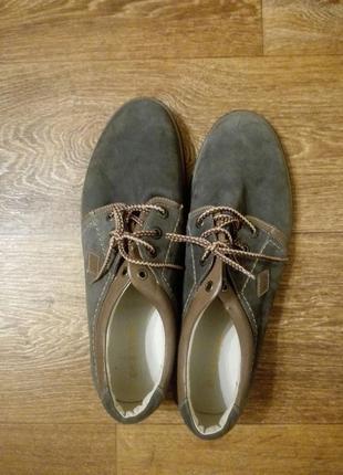 Туфли мужские мида (mida)  натуральный нубук