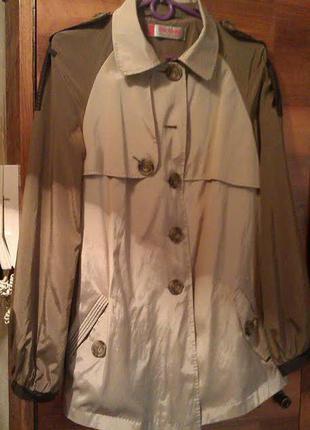 Дизайнерская куртка-плащ dolcedonna