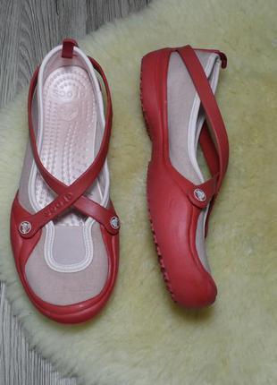 Балетки crocs, оригинал! 39 р.