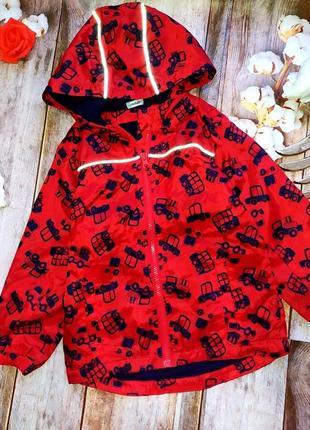 Куртка , дождевик на флисе, ветровка на 4-5 лет