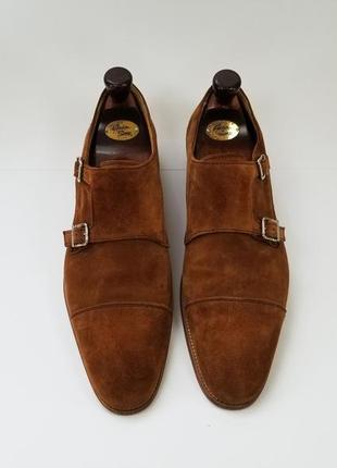Чоловічі туфлі монкі на пряжках