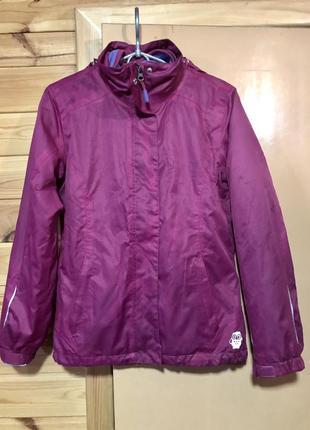 Куртка, ветровка 2 в 1 тсм weather gear, 146-152