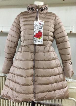 Пальто timiami утеплённое р м ц 1'800 гр👍