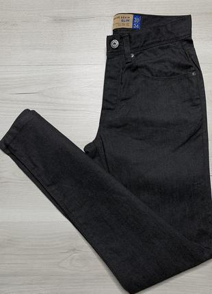 Приталені плотні чоловічі джинси від f&f slim