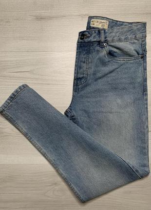 Плотні приталені чоловічі джинси denim_co slim
