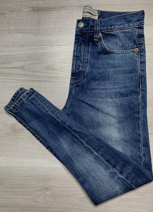 Чоловічі джинси topman skinny carrot