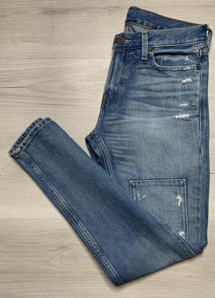 Топові чоловічі джинси від hollister skinny jean