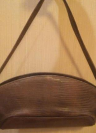 Сумка(клатч)  baldinini, интересной формы,натуральная кожа,оригинал4 фото