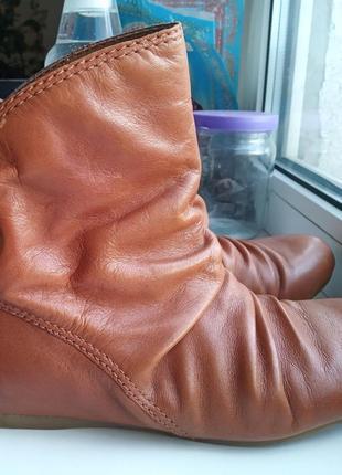 Ботинки, ботильоны натуральная кожа 37р