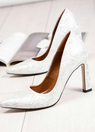 Кожаные туфли лодочки натуральная кожа туфли на каблуке5 фото