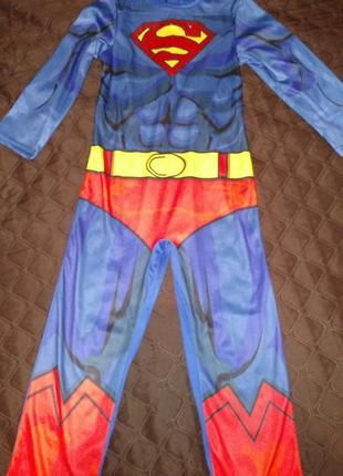 Детский костюм супергероя супер мен superman