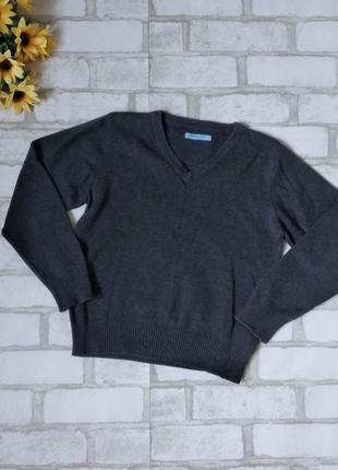 Свитер пуловер marks&spencer на мальчика серый