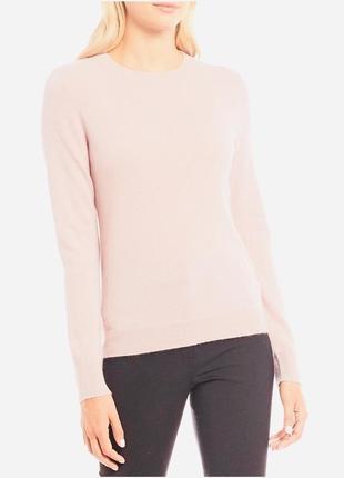 Пудровый кашемировый свитер antonio melani размер м 100% кашемир
