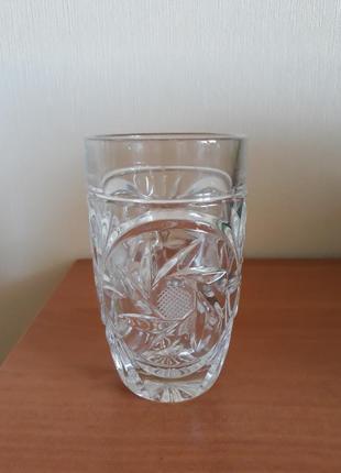 Набор хрустальных стаканов, стаканы
