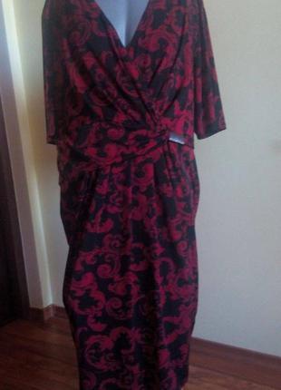 Платье большой размер ann harvey(англ.бренд)