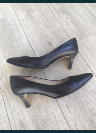 Чёрные туфли, лодочки fabio rusconi