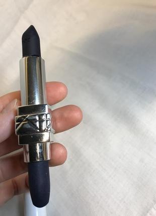 Синяя маттовая помада для губ rouge dior couture colour matte оригинал