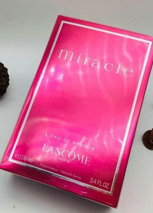 Туалетная вода женская lancome miracle pour femme, 100 ml