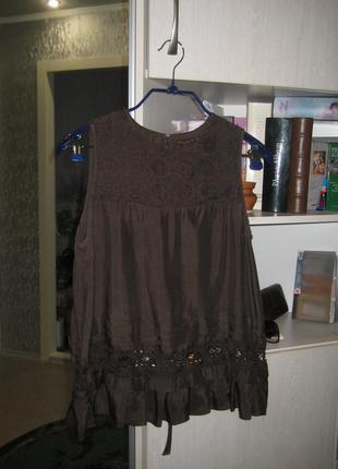 Блуза на лето, кружево