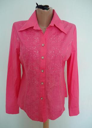 Красивая рубашка блуза р.46-48