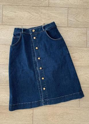 Джинсовая юбка massimo dutti