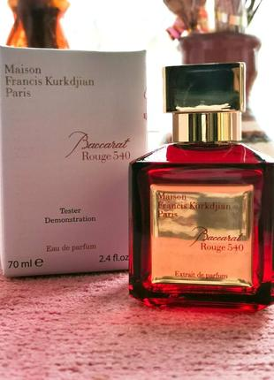 Оригинал🔺baccarat rouge 540 extrait de parfum -maison francis kurkdjian, парфюм, духи