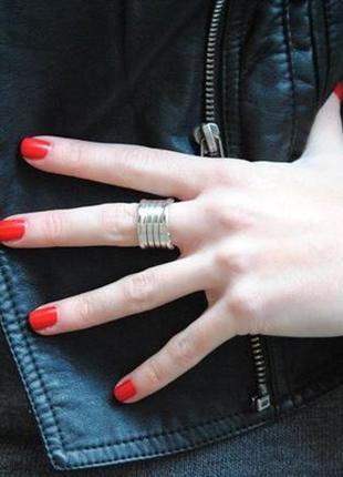 Кольцо пружинка bvlgari