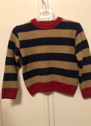 Вязаный свитер на ребёнка 2-3 года