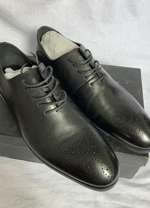 Мужские туфли натуральная кожа gregory arber 39,40, 41 размер