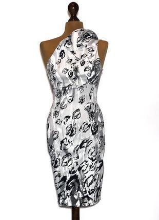 Классное платье миди на одно плечо от довольно дорогого бренда,размер xs-s