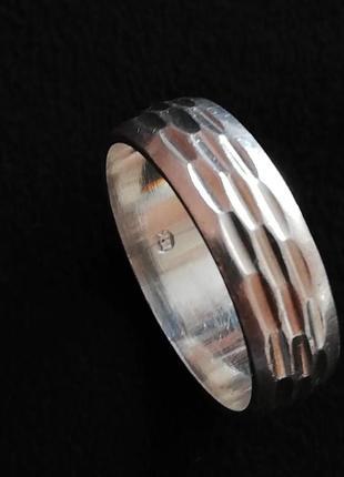 Кольцо серебряное б/у р.17 # срібне колечко лот 310