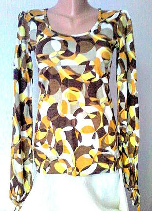 Много летних вещей по 39гр.!!!блузка вискоза, 34 размер, бренд la redoute франция
