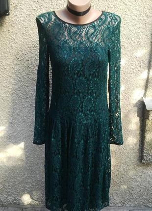 Новое кружевное платье asos с замочком по спинке.