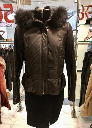 Harmanli кожаная куртка