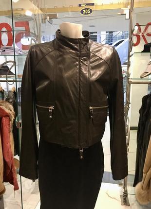 Harmanli натуральная кожаная куртка