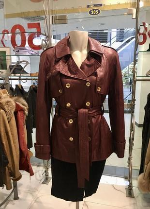 Adamo кожаная куртка
