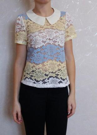Кружевная блуза angeleye