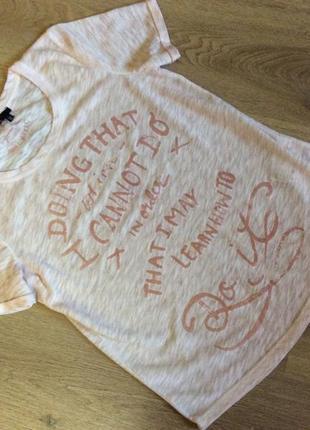 Женская футболка известного бренда marc aurel оригинал р 34 (s-m)